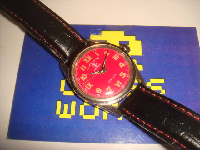 Favre Leuba: Automatic Sea King Red Face Watch