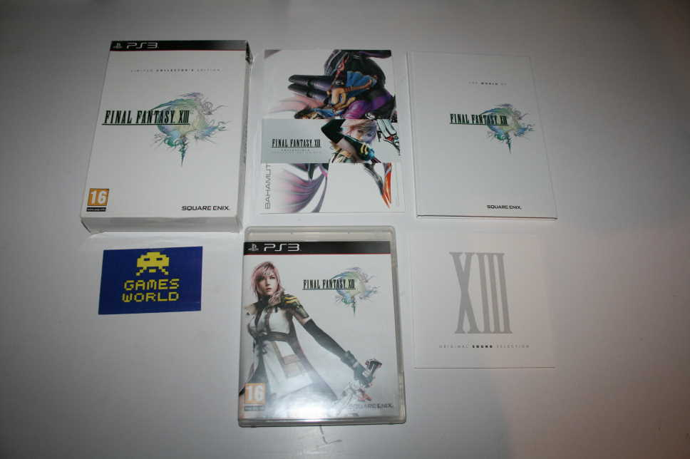 Final Fantasy XIII Limited Collectors Edition