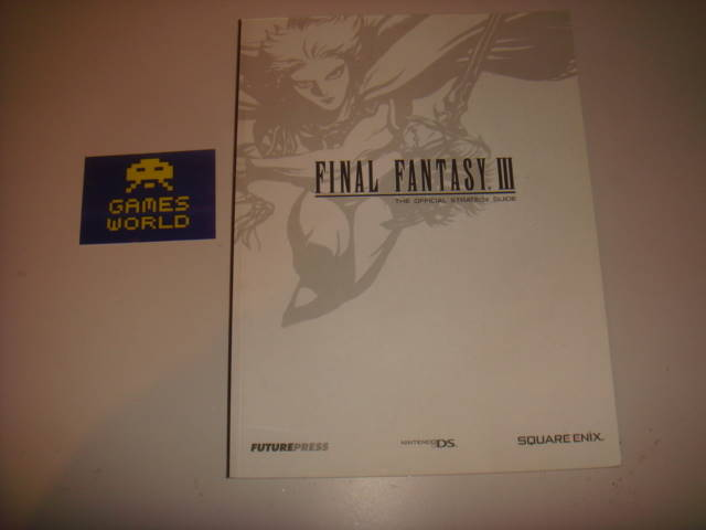 Final Fantasy III (3) Strategy Guide