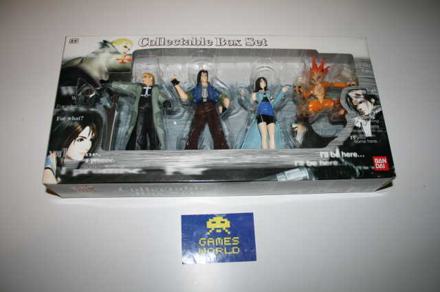 Final Fantasy 8: Collectable Box Set Figures Set B