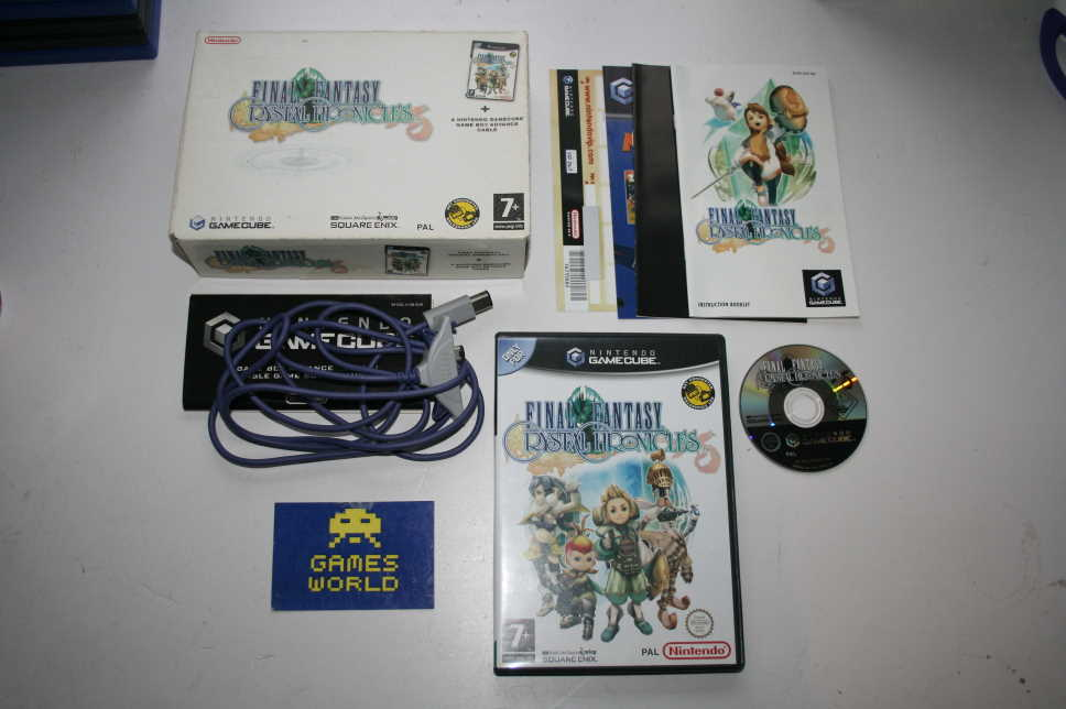 Final Fantasy Crystal Chronicles (Link Cable Box Set)