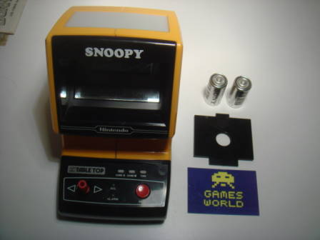 Game & Watch: Snoopy: Table Top