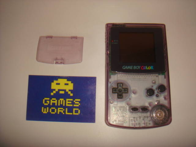 Game Boy Color: Clear