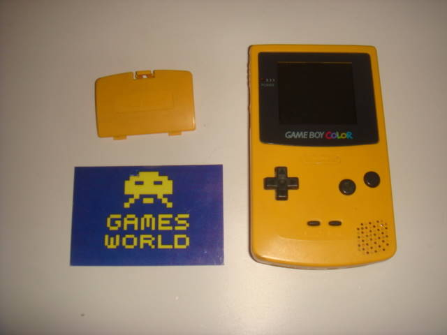 Game Boy Color: Yellow
