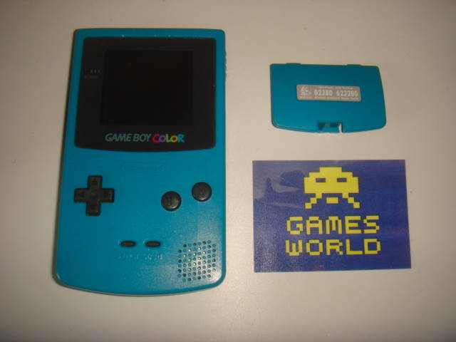 Game Boy Color: Turquoise