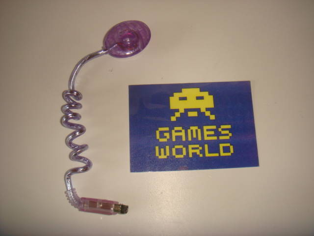 Game Boy Color Worm Light