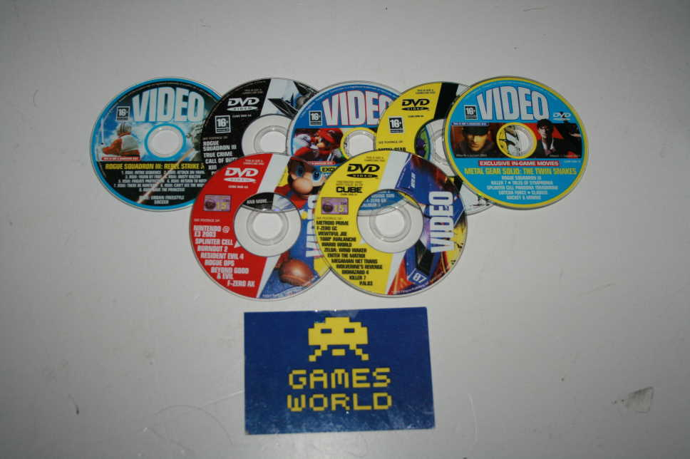 GameCube Video DVD discs x7