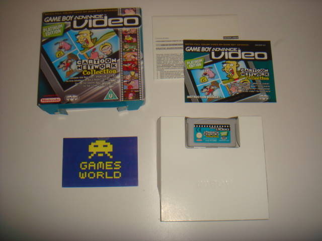 Game Boy Advance Video Cartoon Network Collection