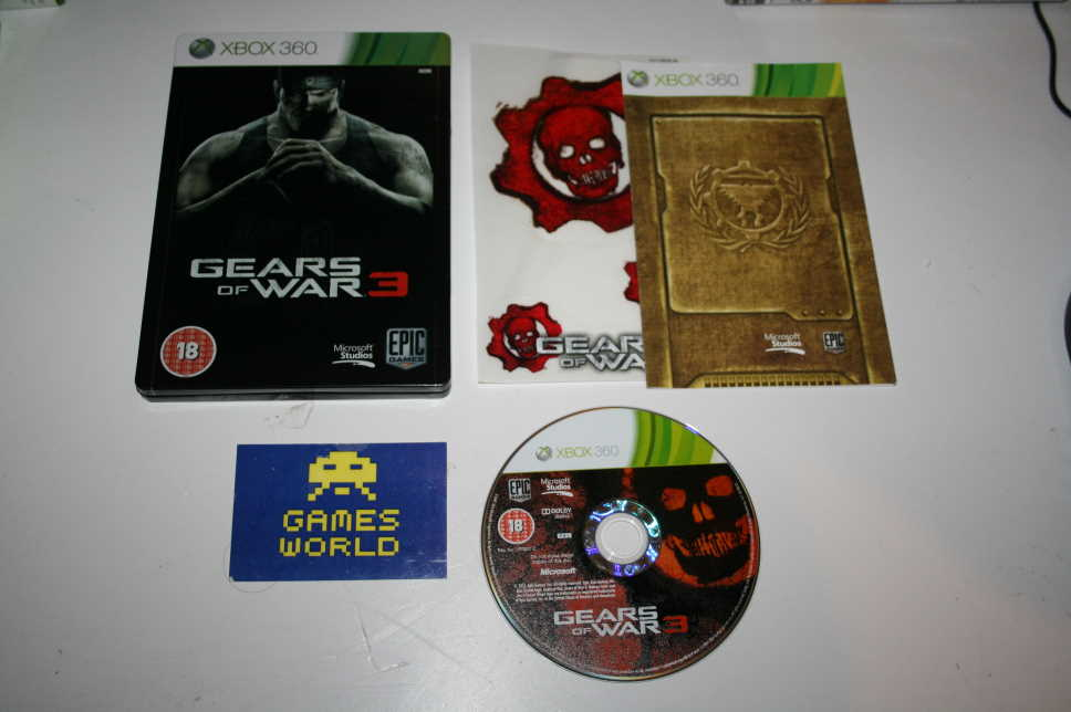 Gears of War 3 (Steel Book)