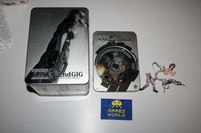 Ghost in the Shell SAC 2nd Gig Vol 7 Tin Edition (R1)
