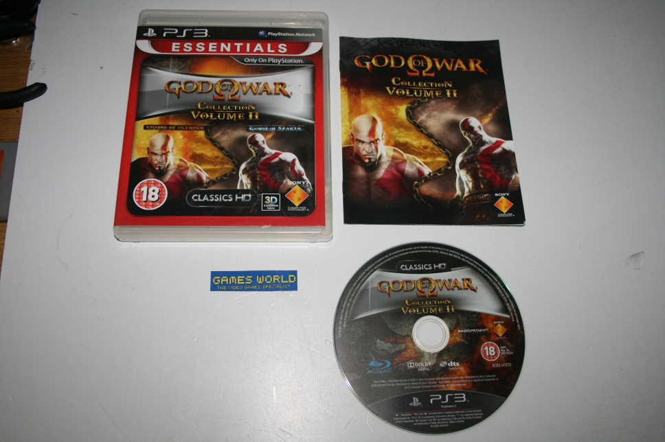 God of War Collection Volume 2