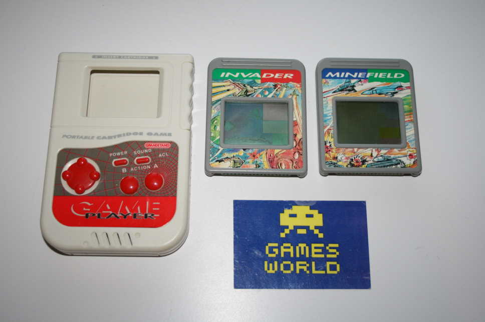 Grandstand LCD Game Plus 2 Games