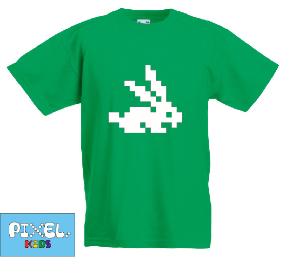 Pixel Pixels Kids: Pixel Rabbit T Shirt