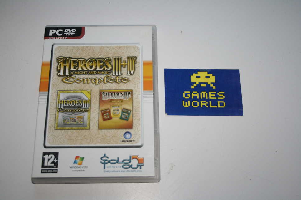 Heroes of Might and Magic 3 & 4 Complete