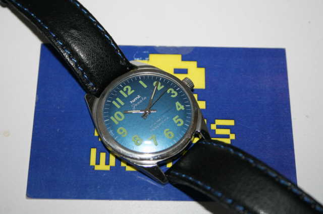 HMT: Janata Automatic Blue Face Watch