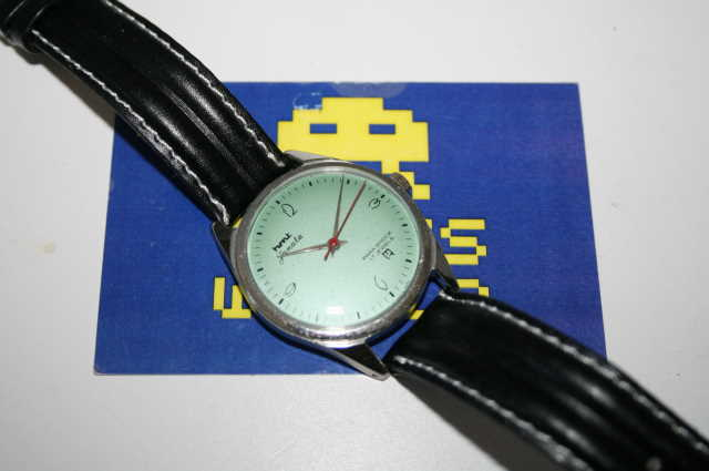 HMT: Janata Automatic Pale Green Face Watch
