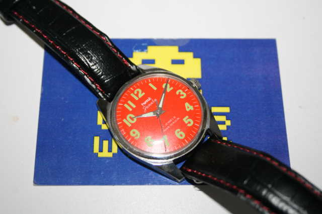 HMT: Janata Automatic Red Face Watch