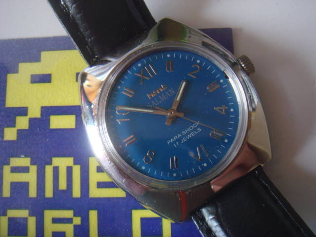 HMT: Salman Automatic Blue Watch