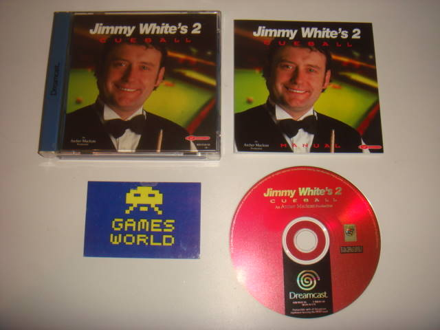 Jimmy Whites Cue Ball 2