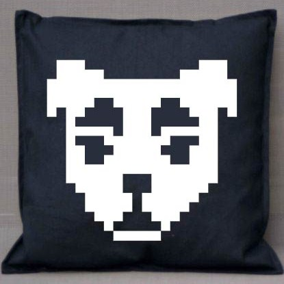 Pixel Pixels: KK Pixels Cushion Cover