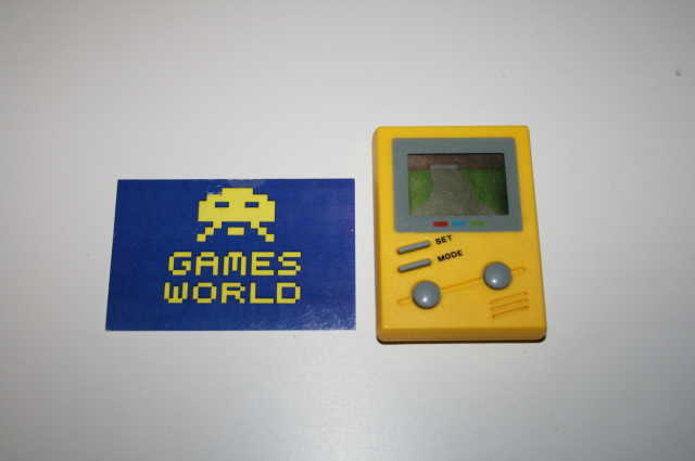 Toy Island Yellow LCD Game
