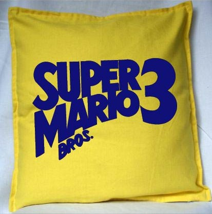 Pixel Pixels: Super Mario Bros 3 Cushion Cover