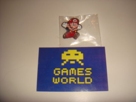 Mario Jumping Badge