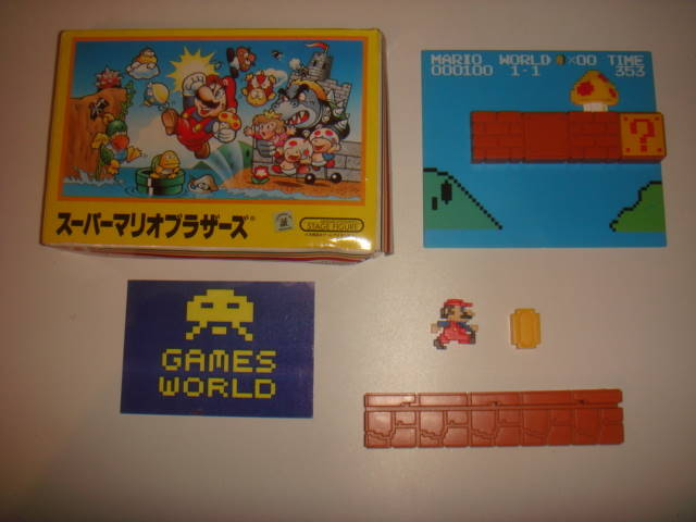 Nintendo Mario Stage Figure World 1 - 1