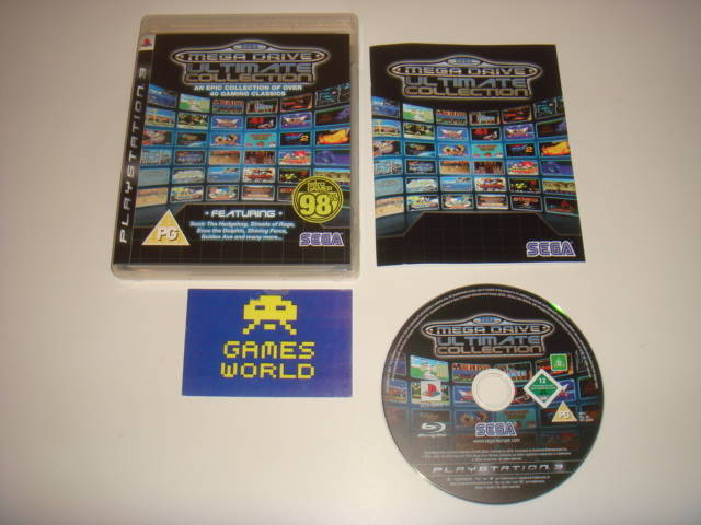 Mega Drive Ulimate Collection
