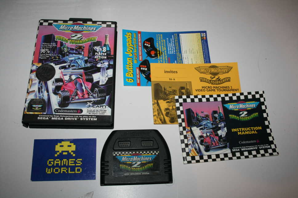 Micro Machines 2 Turbo Tournament J Cart Version