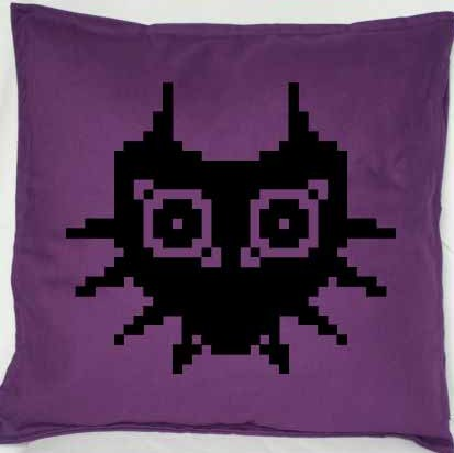 Pixel Pixels: Zelda Majoras Mask Cushion Cover