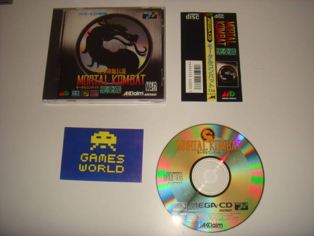 Mortal Kombat CD (Japanese Import)