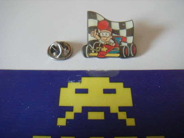 Mystery Kart Racer Badge