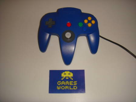 N64: Official Blue Pad