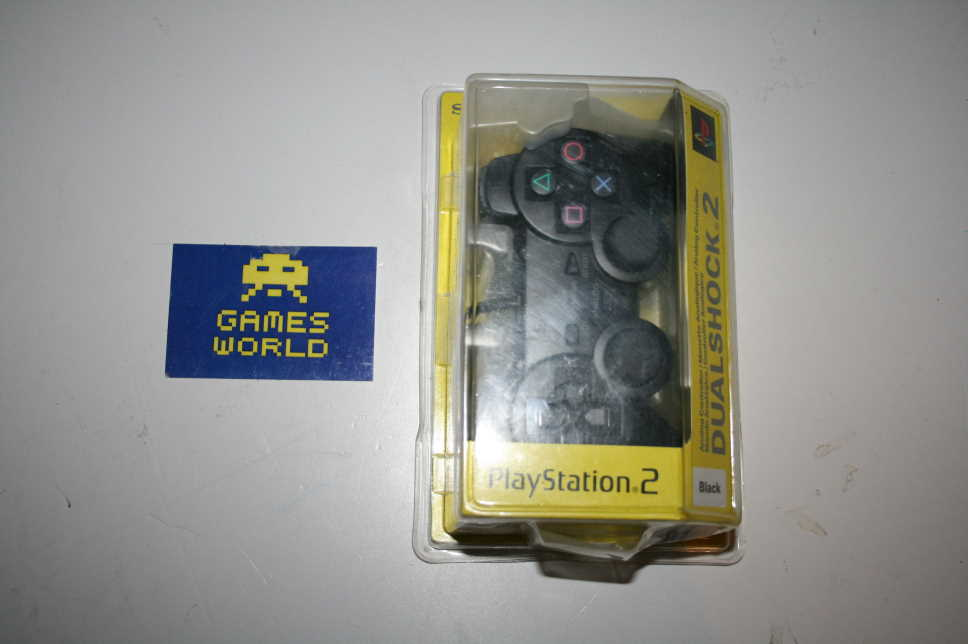 New and Sealed Official PS2 Pad: Black