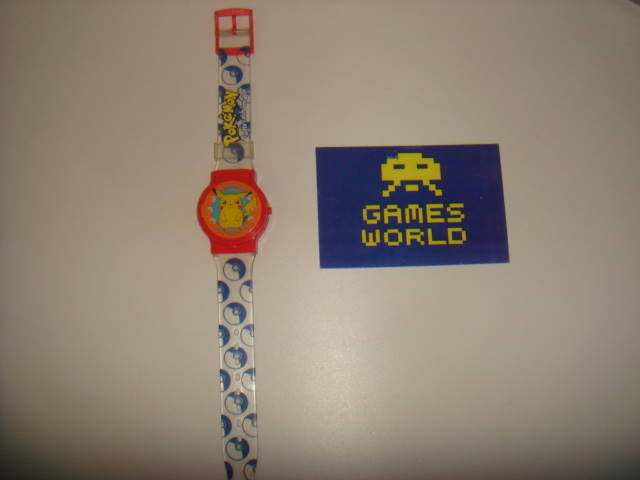 Pokemon Pikachu Flip Watch