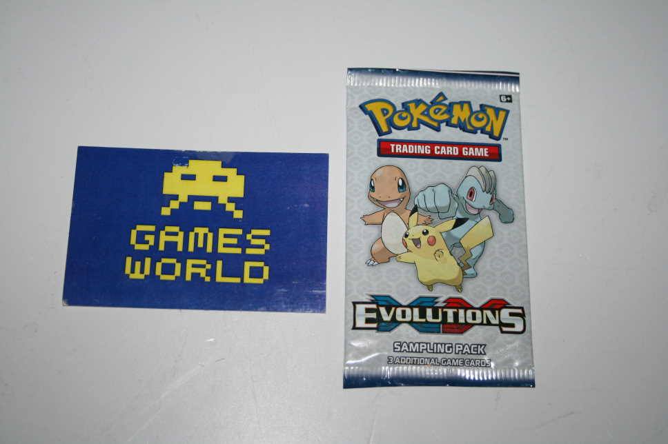 Pokemon Trading Card Game Evolutions XY Sampling Pack