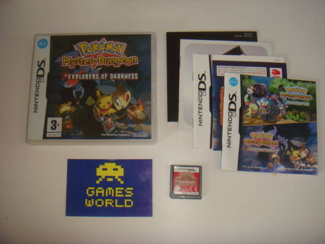 Pokemon Mystery Dungeon Explorers of Darkness