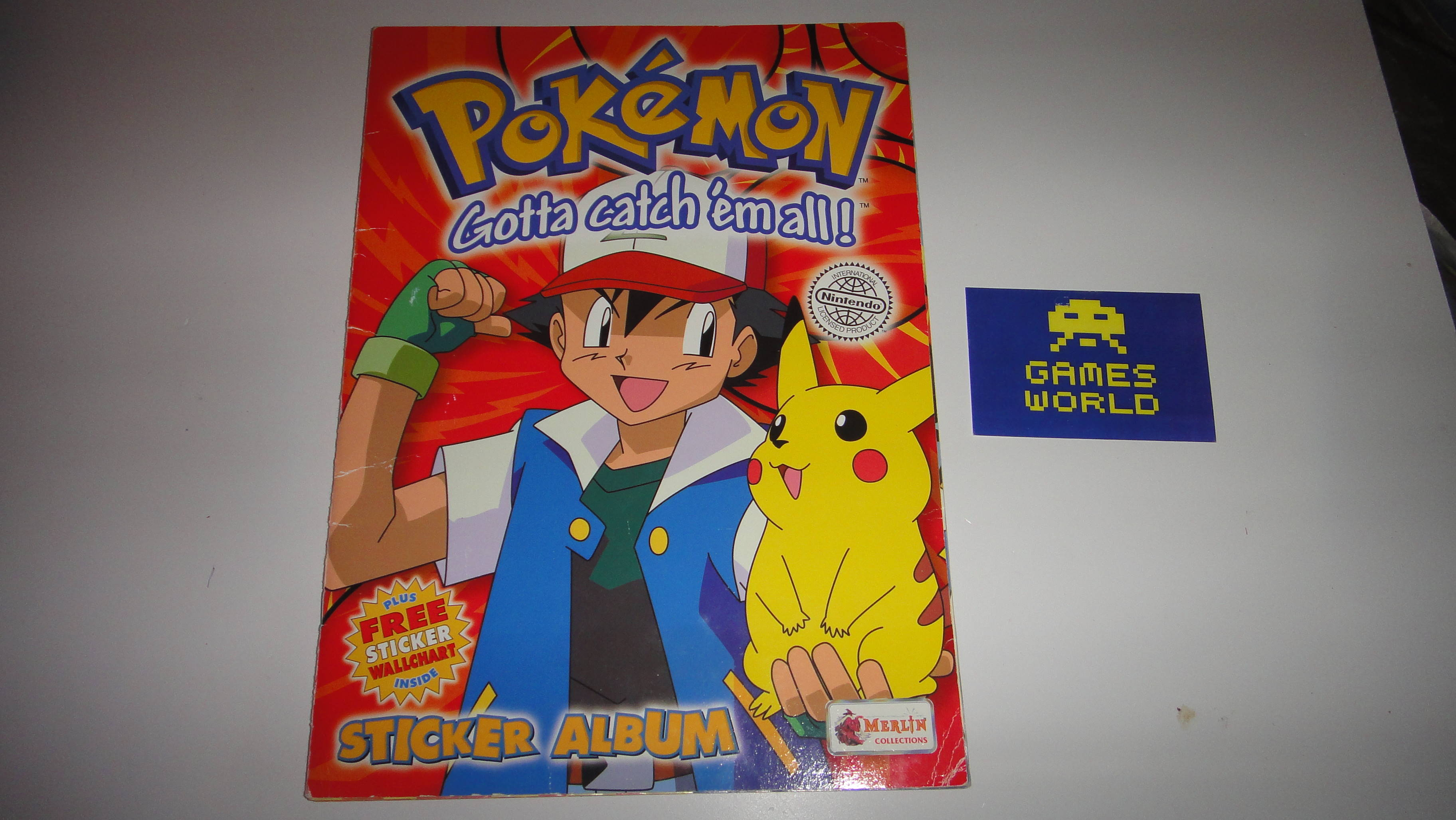 Pokemon Sticker Album (Complete)