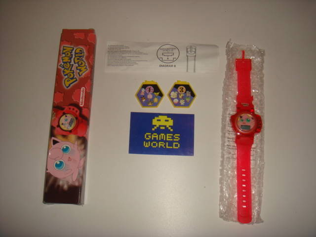 Pokemon World: Jigglypuff Watch