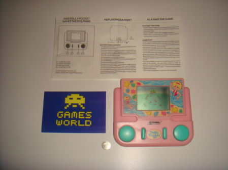 Polly Pocket Save the Dolphins LCD Game