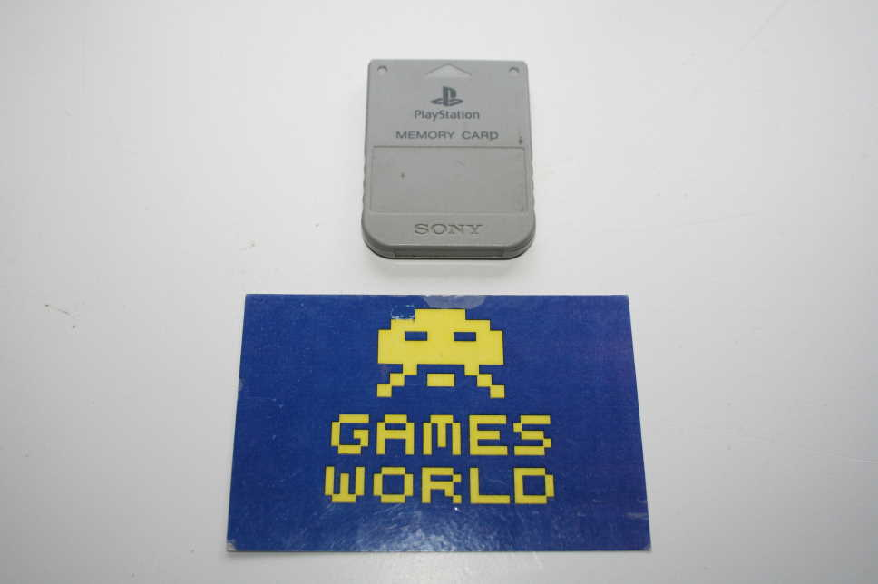 Playstation 1MB Memory Card (Official)