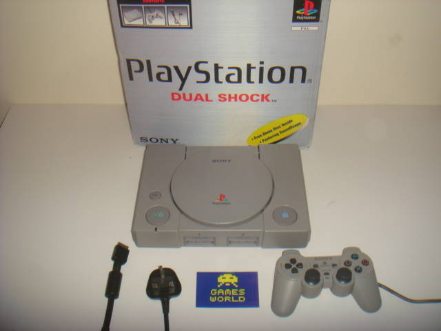 Playstation (PS1) Console Boxed
