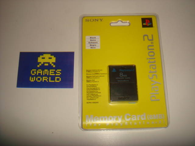 PS2 Official 8mb Memory Card