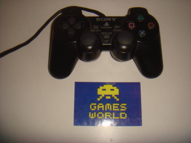 PS2: Official Pad Black