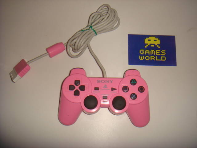 PS2: Pink Official Pad