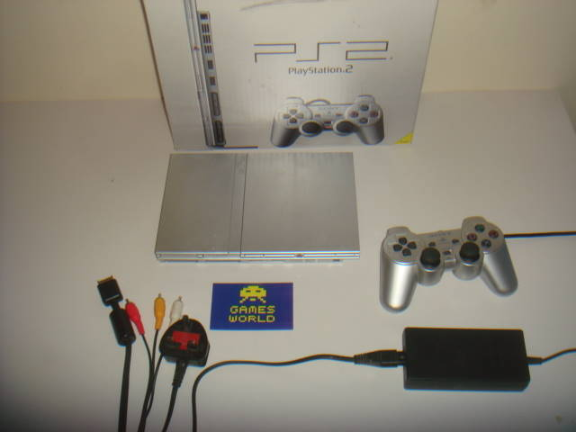 Playstation 2 Slim Console (Silver)