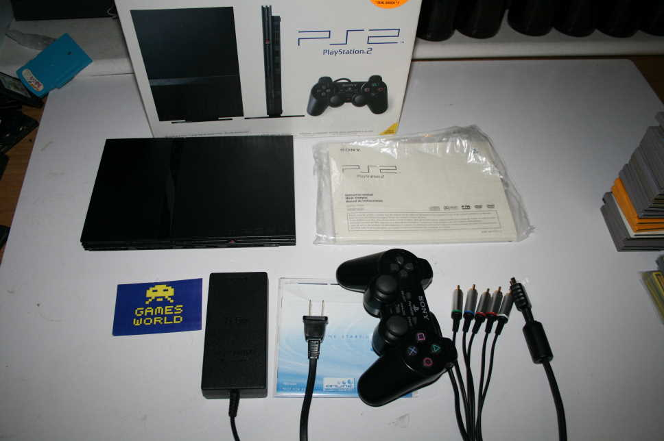 Playstation 2 Slim Console (USA Import)