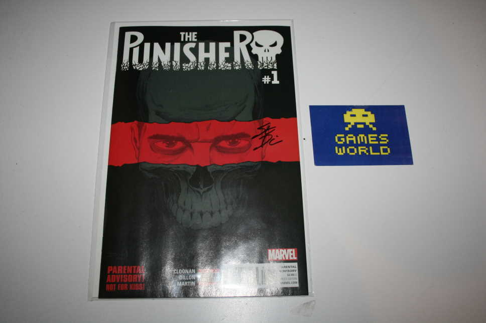 Punisher Issue 1 Signed by Steve Dillon (First Print)