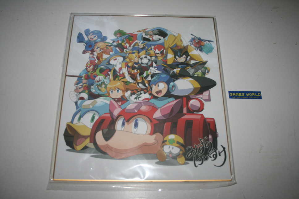 Rock Man / Mega Man Sound Box 2 Capcom E Bonus Print